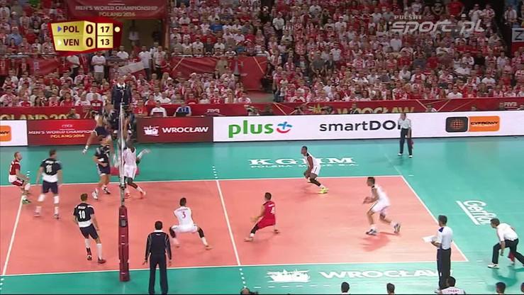 Polska - Wenezuela 3:0. Skrót meczu