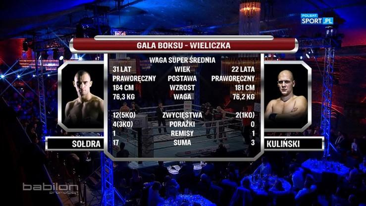 2016-10-22 Andrzej Sołdra - Jordan Kuliński. Skrót walki