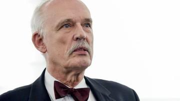 """08-05-2017 16:55 Korwin-Mikke skazany na grzywnę za spoliczkowanie Boniego. """"Zasady wygrały"""""""