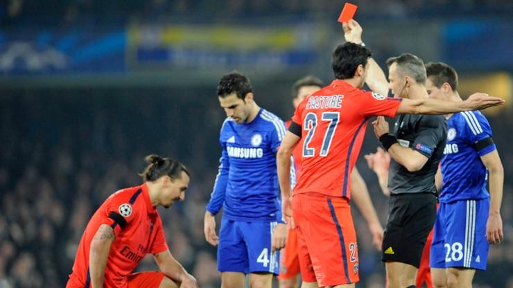 Ibrahimovic zawieszony na jeden mecz za czerwoną kartkę