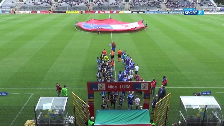 2017-05-22 Miedź Legnica - GKS Tychy 3:2. Skrót meczu