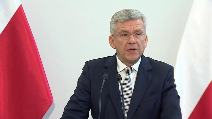 Marszałek Karczewski zapowiada interwencję ws. zagranicznych publikacji o Marszu Niepodległości