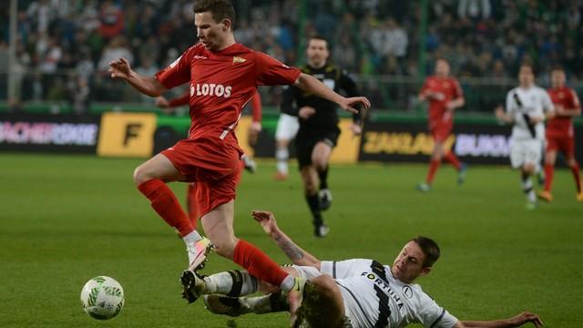 Ekstraklasa piłkarska - Legia - Lechia 1:1