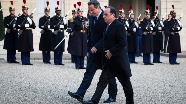 Hollande: będziemy kontynuować naloty w Syrii. Cameron: Wielka Brytania powinna dołączyć