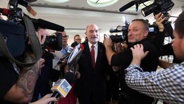 22-10-2016 17:54 Macierewicz: decyzja o stałej obecności wojsk NATO efektem wyborów w 2015 r.