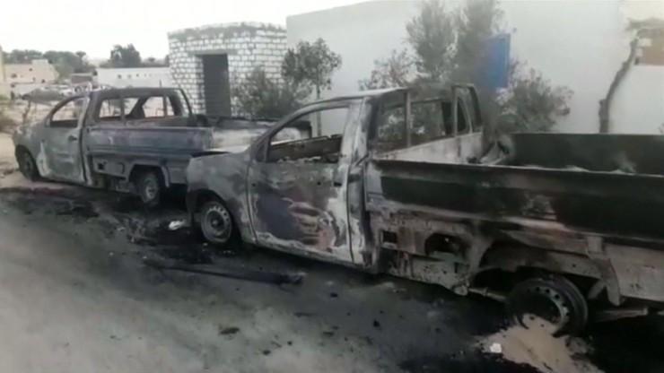 Zamach Na Meczet Facebook: Egipskie Lotnictwo Zniszczyło Pojazdy Wykorzystane W Ataku