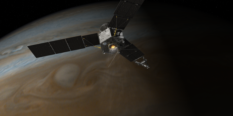Amerykańska sonda Juno weszła na orbitę Jowisza