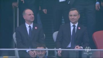 Prezydent Duda wygwizdany podczas meczu finałowego Pucharu Polski