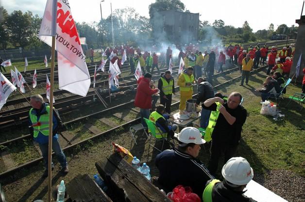Górnicy blokują rosyjski węgiel na granicy