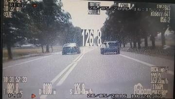 """27-05-2016 11:12 Jechał 170 km/h i wyprzedzał na podwójnej ciągłej - """"bo żona urodziła"""""""