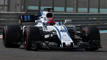 2017-11-28 Kubica: Prowadzenie bolidu jedną ręką jest niewykonalne