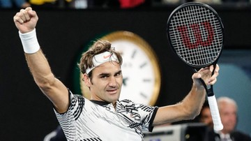 2017-01-26 Australian Open: Federer pokonał Wawrinkę i zagra w finale