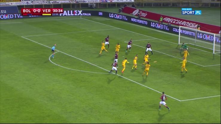 Bologna FC - Hellas Verona 4:0 (2:0). Skrót meczu