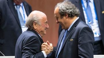 08-10-2015 14:37 Blatter i Platini zawieszeni przez komisję etyki FIFA