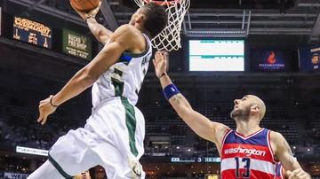 2016-12-29 NBA: Świetna postawa Gortata w zwycięskim meczu Wizards