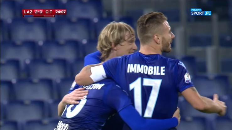 Lazio - Cittadella 4:1. Skrót meczu