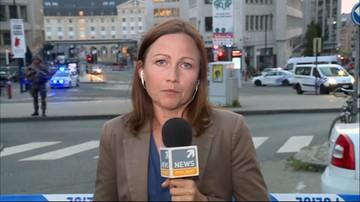 Wybuch na dworcu w Brukseli. Napastnik unieszkodliwiony