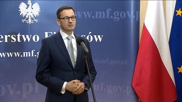 """03-10-2017 10:14 """"To się na rozwoju i finansach tak bardzo nie odbije"""". Morawiecki o częściowym ograniczeniu handlu w niedziele"""