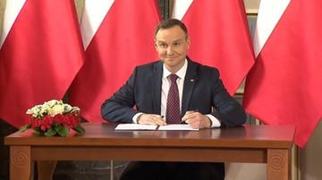 20-07-2017 21:52 Prezydent podpisał szereg ustaw, w tym nowelę programu Mieszkanie dla Młodych