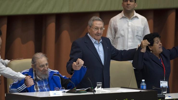 """Raul Castro pozostanie na czele partii. Zapowiada """"stopniową wymianę pokoleniową"""""""
