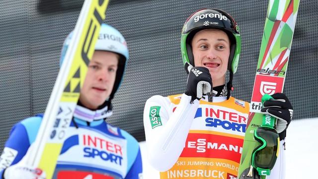 Stoch 16. w Innsbrucku, zwycięstwo Prevca