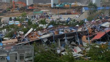 15-09-2016 12:23 Supertajfun w Chinach. Spowodował poważne zniszczenia