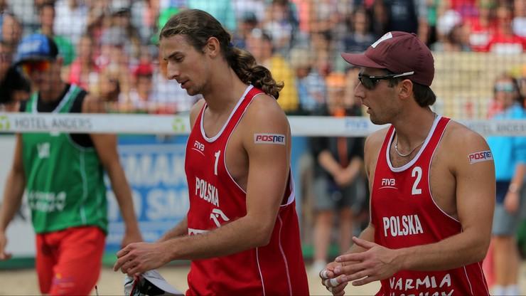 WT w siatkówce plażowej: Polskie pary walczą o igrzyska