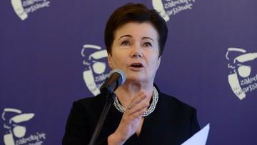 """04-08-2017 16:34 """"Jaki nie zna się na prawie, niech się trochę nauczy"""". Gronkiewicz-Waltz o nałożonych na nią grzywnach"""