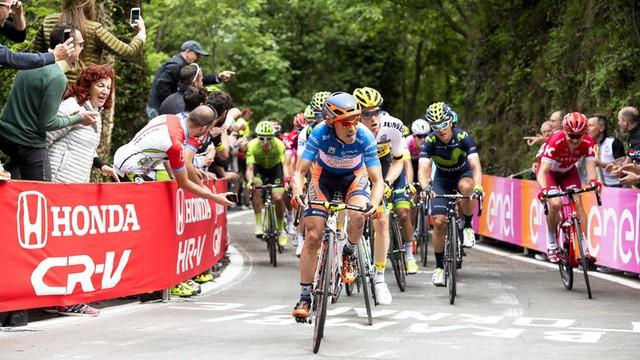 Giro d'Italia - Majka coraz wyżej