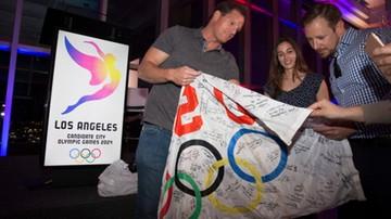 2016-02-17 IO 2024: kandydujące Los Angeles przedstawiło logo i slogan