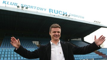 2017-04-21 Warzycha trenerem Ruchu Chorzów