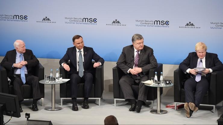 Prezydent Duda: jeśli Zachód ma upaść, upadnie podzielony