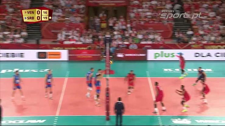 Serbia - Wenezuela 3:0. Skrót meczu