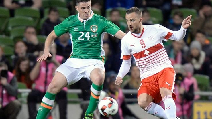 Skromna wygrana Irlandii nad Szwajcarią. Przesądził gol stopera