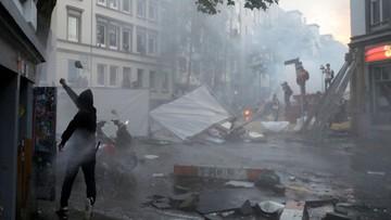 """08-07-2017 08:48 """"Okolica wygląda jak podczas wojny domowej"""". Ponad 100 zatrzymanych w Hamburgu"""