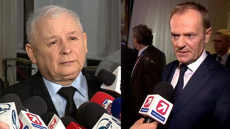 Prokuratura: odmówiono dochodzeń ws. znieważeń Kaczyńskiego i Tuska