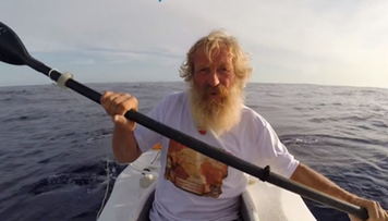 24-05-2016 14:08 Wyprawa przez Atlantyk zagrożona. Amerykanie zabrali żywność Aleksandrowi Dobie