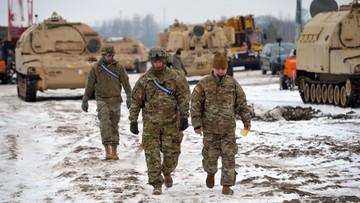 11-01-2017 06:43 Ok. 300 amerykańskich żołnierzy wylądowało w nocy na lotnisku w Poznaniu