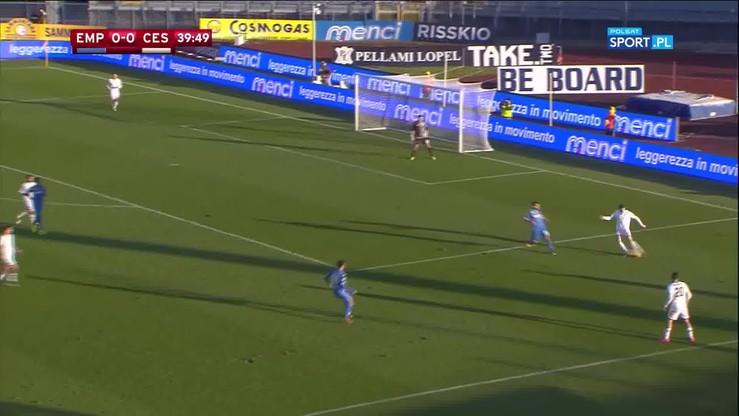 Empoli - Cesena 1:2 (po dogrywce). Skrót meczu