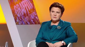 Beata Szydło: w czasie debaty nad wotum nieufności podsumujemy, co dotychczas zrobiliśmy
