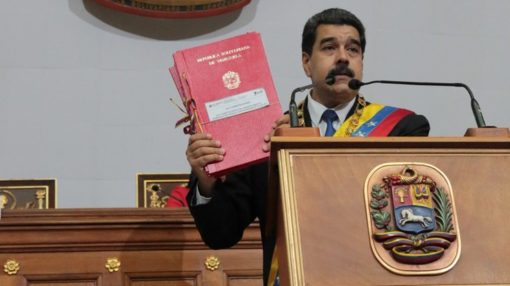 Maduro zadeklarował gotowość do rozmów z opozycją przy okrągłym stole
