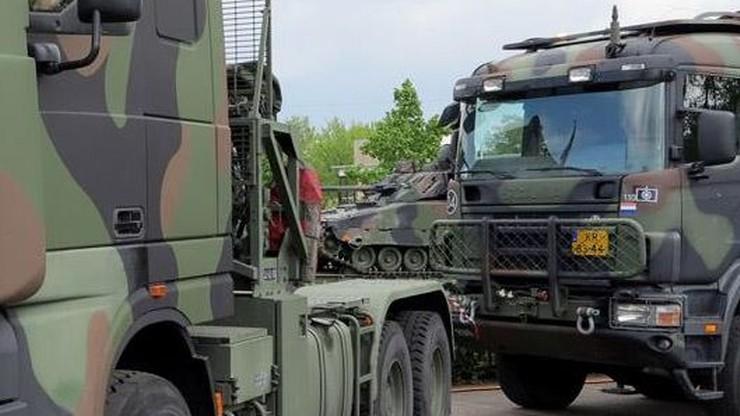 Ukradł wojskową ciężarówkę w Holandii, by pojeździć po mieście