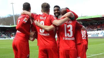 2017-03-05 Gol i asysta Koseckiego, czerwona kartka Łukasika na zapleczu Bundesligi