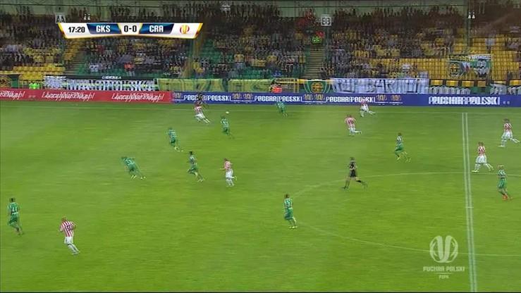 GKS Katowice - Cracovia 1:3. Skrót meczu