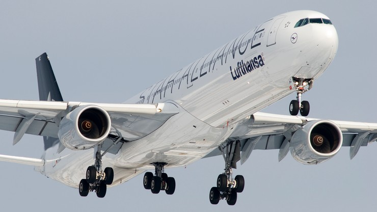 USA: zgłoszenie o bombie przyczyną awaryjnego lądowania samolotu Lufthansy