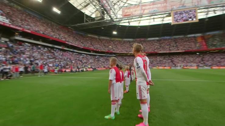 Ajax Amsterdam - Rapid Wiedeń 2:3. Skrót meczu