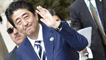 """26-05-2017 17:12 """"Presja, nie dialog"""". Trump i Abe za zaostrzeniem sankcji wobec reżimu Korei Płn."""