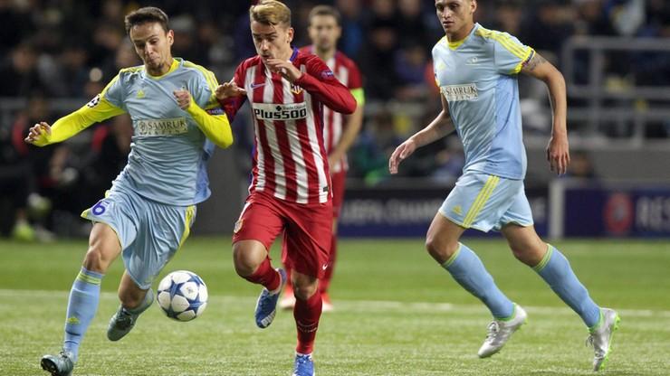 Niespodzianka w LM. Atletico gubi punkty w Kazachstanie