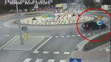 Jechał zygzakiem i wykonywał niebezpieczne manewry. Policja przerwała pijaną przejażdżkę