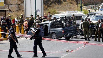 16-09-2016 16:30 Ataki w Izraelu. Napastnicy zastrzeleni